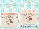 ミッキー&ミニー高級ゴブラン織りランチバッグ