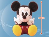 ミッキーマウス メガジャンボ赤いほっぺのふわろん照れポーズぬいぐるみ