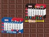 MARVEL ブロックカレンダー