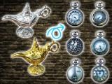 魔法のランプアンティークウォッチネックレス