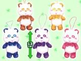 【セール台】AAA え~パンダ タータンチェック マスコット