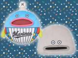 """千葉ロッテマリーンズ メガジャンボフェイスクッション""""謎の魚"""""""