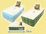 ted2 バスタイム ティッシュBOXカバー
