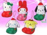 サンリオキャラクターズ クリスマスくつしたマスコット