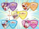BanG Dream!ガールズバンドパーティ!ピック型メタルチャーム ハロー、ハッピーワールド