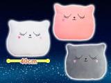 【セール台】猫形クッション