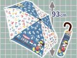 ミッキー&フレンズ折畳傘(アウトドア)