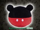 ミッキーマウス プレミアムモチーフクッション