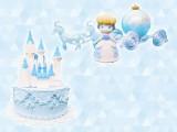 ディズニーキャラクターズ Patisserie au Sucre -Cinderella-(お城ケーキ、シンデレラ)