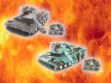 RC BATTLE TANK(ミサイル サウンド付き戦車)