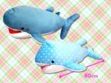 もちもち サメ クッション ぬいぐるみ60㎝サイズ