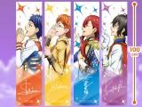 """KING OF PRISM -Shiny Seven Stars- マフラータオル""""シン&ユキノジョウ&カケル&コウジ"""""""