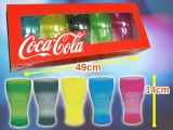 コカ・コーラ タンブラー5Pセット Ver.3