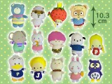 サンリオキャラクターズボールチェーンマスコット14種(なつかしシリーズ)
