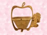あらいぐまラスカルキッチン木製バスケット