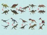 恐竜フィギュア(骨)