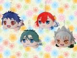 "KING OF PRISM -Shiny Seven Stars- 寝そべりぬいぐるみ""シン&ユキノジョウ&ミナト&カヅキ"""