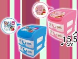 クレヨンしんちゃん3段収納BOX