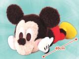 ミッキーマウス 赤いほっぺ メガジャンボ寝そべりポーズふわろんぬいぐるみ