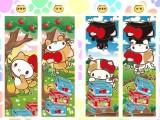 【セール台】HELLO KITTY 箱ねこシリーズ リバーシブルマイクロケット