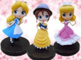 Disney Characters Q posket petit-Alice・Cinderella・Jane-