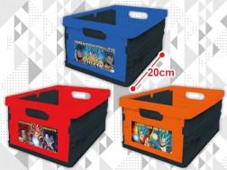 ドラゴンボールGT&超&超ブロリー 折りたたみ収納コンテナBOX