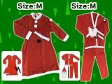 【セール台】クリスマスコスチューム サンタクロース