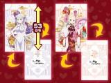 """Re:ゼロから始める異世界生活 メガジャンボクッション""""エミリア&ベアトリス""""Dragon-Dress Ver."""