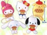 サンリオキャラクターズ ジャンクフード大好きマスコット