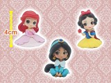 Disney Character Q posket petit -Ariel・Jasmine・Snow White-