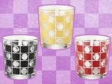 【セール台】【国産】涼市松 切子風グラス