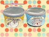 犬と猫どっちも飼ってると毎日たのしい 缶詰型ポーチ