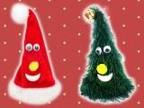 【セール台】サンタ帽とミニの木君ギミック