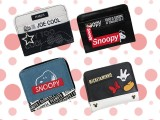 スヌーピー&ミッキー二つ折り財布4種AS