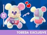 【トレバ限定】ミッキーマウス BIGぬいぐるみ カラフルパーティー