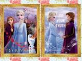 アナと雪の女王2 3Dアートポスター