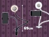 LEDライト付きスマホスタンド