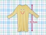 笑顔刺繡ルームウェア ワンピース