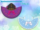 ディズニーアナと雪の女王ケープブランケット