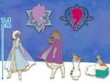 ディズニーアナと雪の女王ステンドグラス風BC