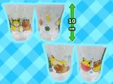 タヌキとキツネ グラスセット~涼しげな昼さがり~