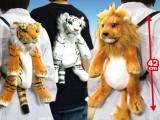 リアルどうぶつリュック タイガー&ライオン