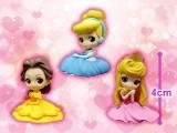 Disney Character Q posket petit -Belle・Cinderella・Princess Aurora-
