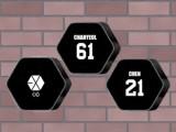 EXO ロゴBIGクッション②