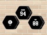EXO ロゴBIGクッション③
