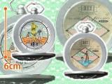 スター・ウォーズ/最後のジェダイ プレミアム懐中時計