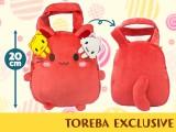 【トレバ限定】トレタのぽてバッグ~おともだちワッペン付き~