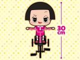 「チコちゃんに叱られる!」 自転車ぬいぐるみ