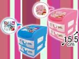 クレヨンしんちゃん 3段収納BOX