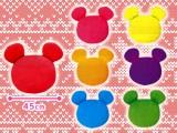 ミッキーマウス スペシャル7☆カラーミツマルクッション